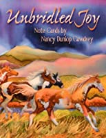 Unbridled Joy by Nancy Dunlop Cawdrey [ASN34664] - 12 Blank Horse Note Cards with Full-color Interiors and Designed Envelopes [並行輸入品]