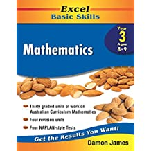 Excel Basic Skills Workbook: Mathematics Year 3