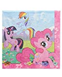 (48-Count, Lunch Napkins) - American Greetings My Little Pony Lunch Napkins, 48-Count