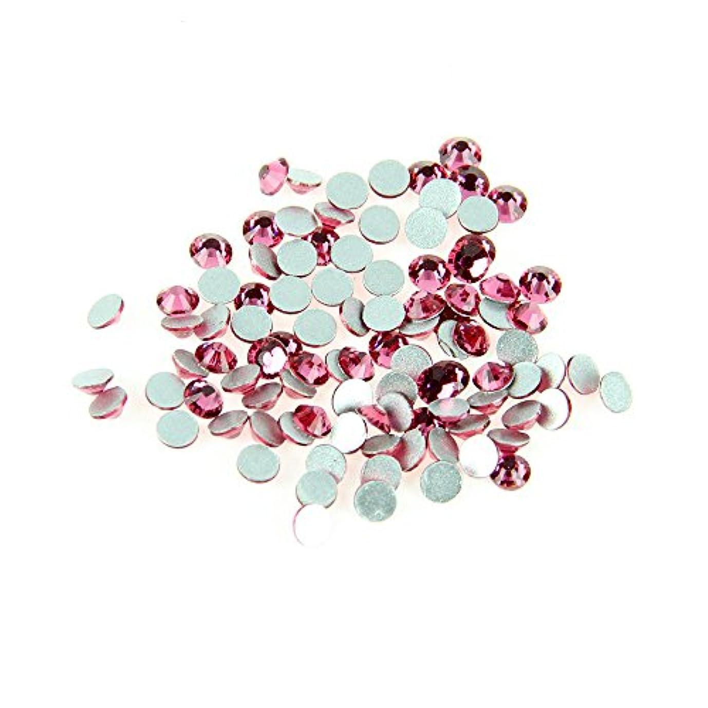 を必要としていますハンサム悲しいガラス製ラインストーン rose ローズ 1440粒 (3.0mm (SS12) 約1440粒) [並行輸入品]