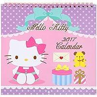 キティ・2017年 ウォールカレンダー M17 7738