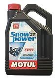 MOTUL(モチュール) SNOW POWER 2T (スノーパワー 2T) 2ストローク・スノーモービル用エンジンオイル(混合・分離) 化学合成[正規品] 4L
