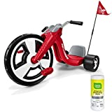 Radio Flyer BigホイールKidsペダルRide On Tricycle For Boys ,レッドwith Disinfectant Wipes
