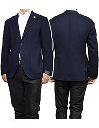 (ラルディーニ)LARDINI メンズシングル2Bジャケット IA391AQ-7 IAR45207 ネイビー [並行輸入品]