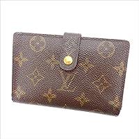 ルイヴィトン Louis Vuitton がま口財布 二つ折り ユニセックス ポルトモネビエヴィエノワ M61663 モノグラム 中古 Y2968