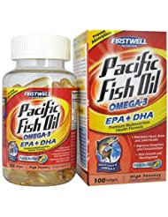 FIRSTWELL PACIFIC FISH OIL 100'S 太平洋深海鱼油