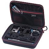 Smatree SmaCase G260sl大型カメラケース(10.6×8.3×2.8) GOPRO HERO,HERO4,HERO3+,HERO3,HERO2,アクセサリー対応 高密度エクセレントカットのEVAフォーム キャリングケース 旅行やホームストレージに最適