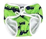 [緑]再利用可能な赤ちゃん泳ぐおむつラブリー幼児泳ぐおむつの水着