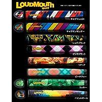Loud Mouth ラウドマウス OVERSIZE オーバーサイズ パターグリップ (マーカー付) オーバーサイズ,ラッキー