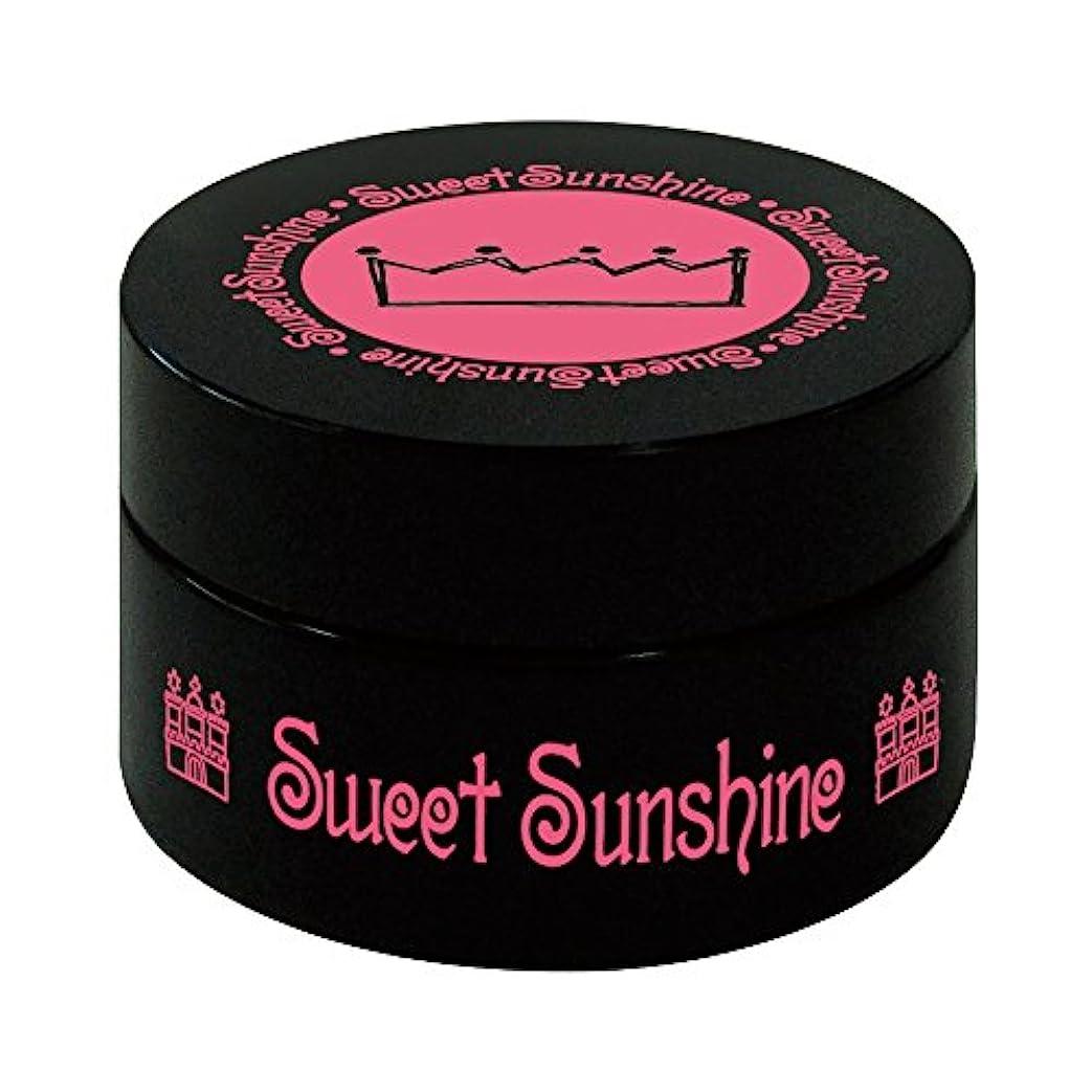 味わうミネラル懐疑的Sweet Sunshine カラージェル 4g FSC- 2 シナモンオーガンジー シアー UV/LED対応