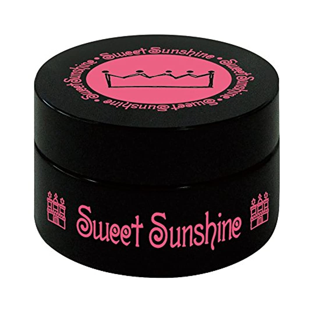 出血静める談話Sweet Sunshine カラージェル 4g MON-20 ホワイトゴールド グリッター UV/LED対応