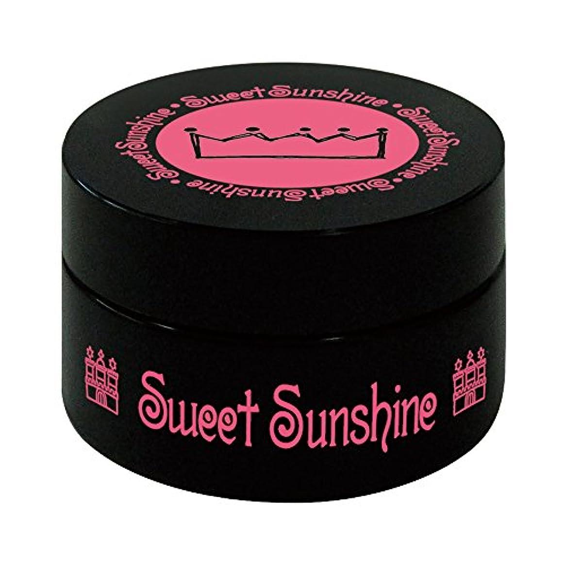 シャワー吹きさらし喜ぶSweet Sunshine カラージェル 4g MON-11 グラデーションホワイト マット UV/LED対応