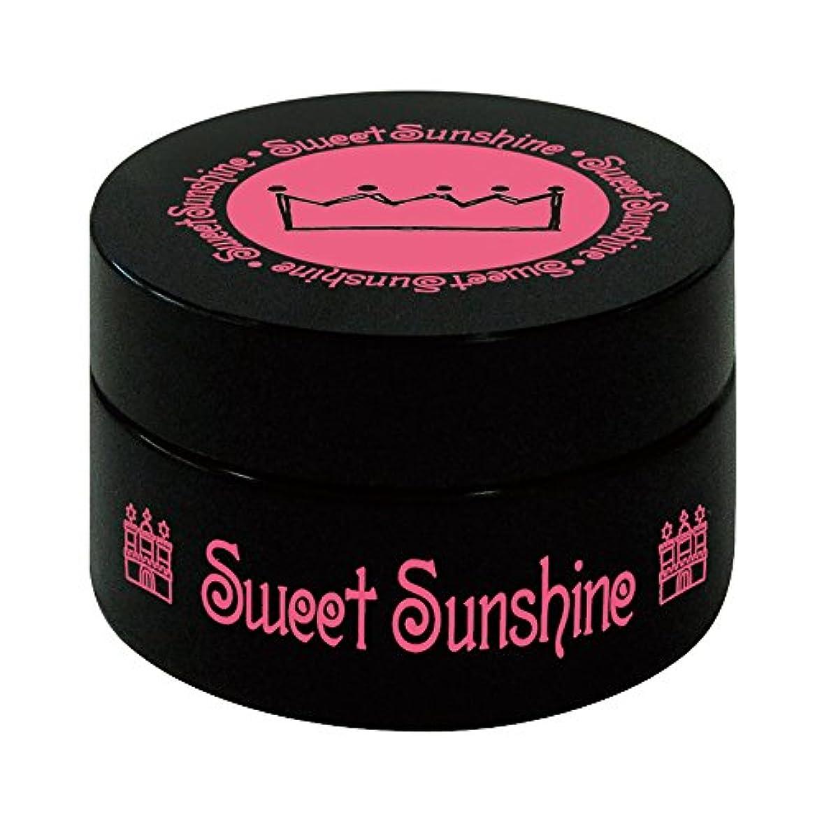 うま施設施設Sweet Sunshine カラージェル 4g FSC- 2 シナモンオーガンジー シアー UV/LED対応