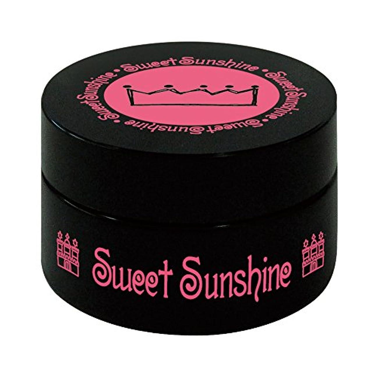 懲戒第二うぬぼれたSweet Sunshine カラージェル 4g MON- 8 シャンパンゴールド パール UV/LED対応