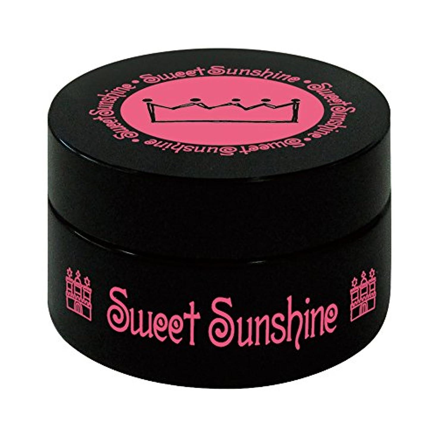 中級あいまいお茶Sweet Sunshine カラージェル 4g FSC- 2 シナモンオーガンジー シアー UV/LED対応