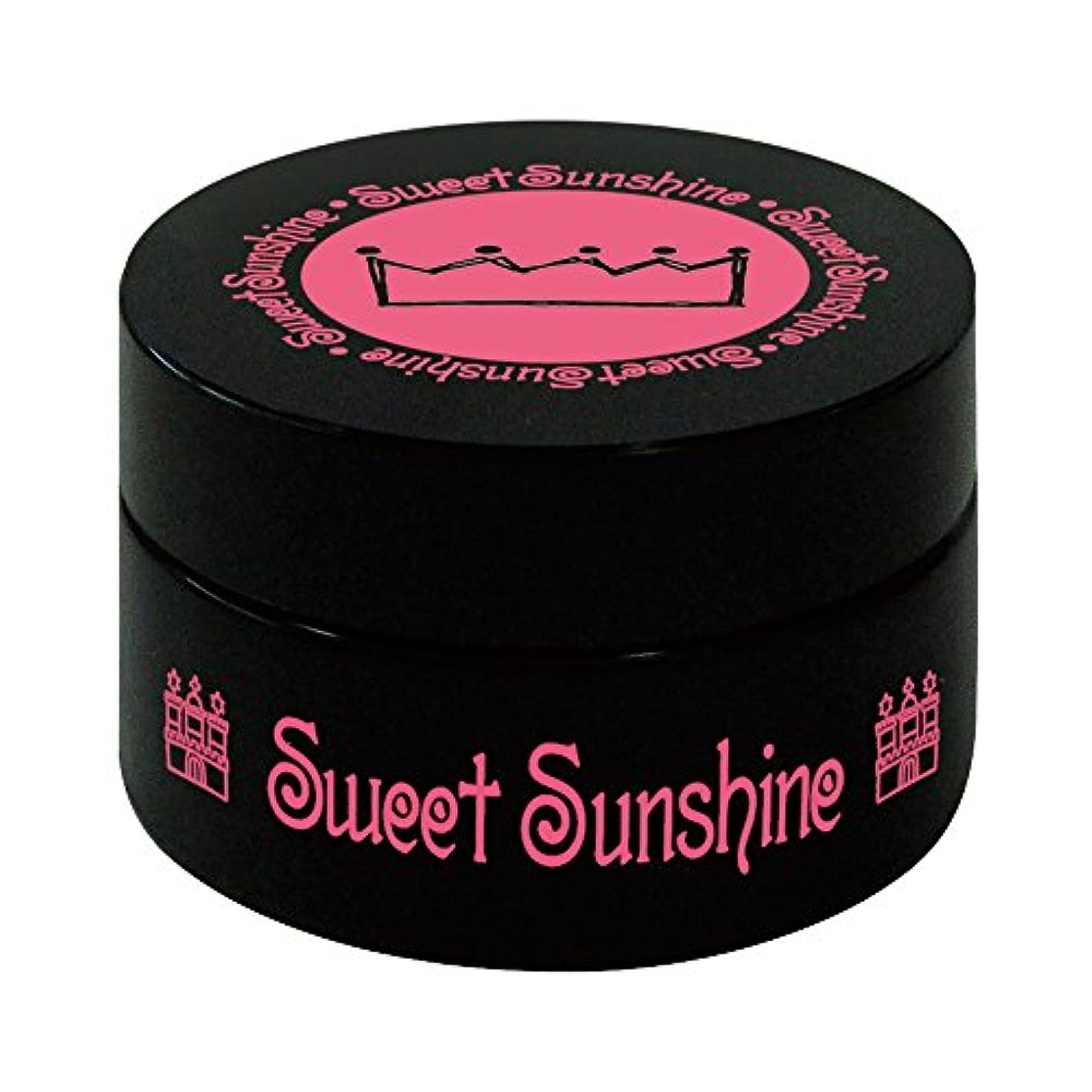 クレデンシャル不公平発掘Sweet Sunshine カラージェル 4g FSC- 2 シナモンオーガンジー シアー UV/LED対応