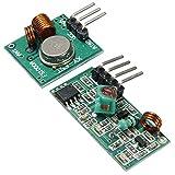 Prament Arduino ARM MCU Wireless用レシーバモジュールキット付き433Mhz RFデコーダトランスミッタ COD