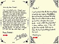 Quiplip Handwritten Yours Truly Birthday Cards 6-Pack (YT07176PCK) [並行輸入品]