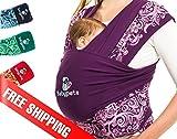 ベイビーピータ (Babypeta) の 抱っこ紐 で腰痛&ハンズフリー、忙しいママへ 新生児 から使える スリング