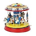 KESOTO メリーゴーランド 置物 アクセサリー 玩具 ホーム キッチン インテリア 装飾品 プレゼント