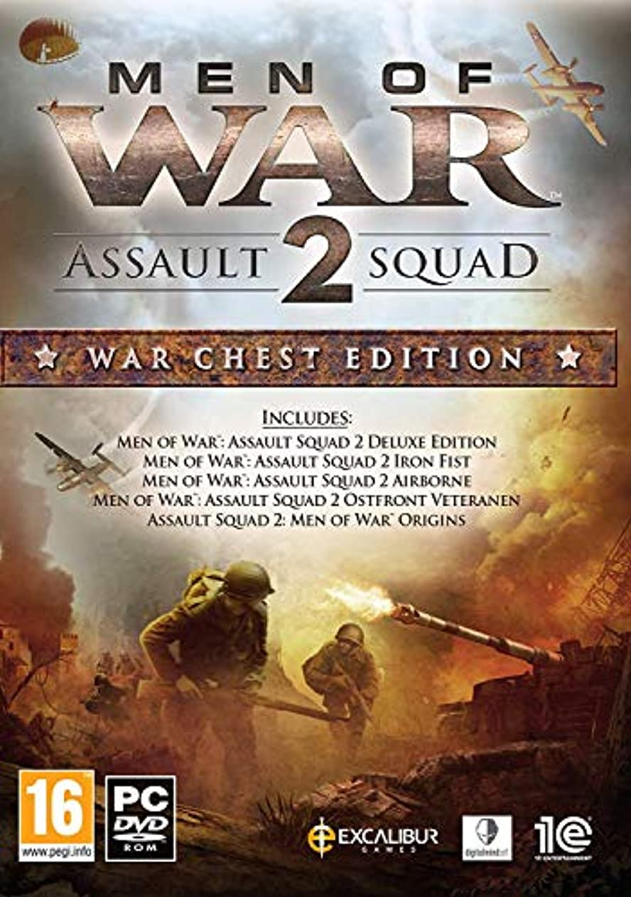 としてキー敵対的Men of War: Assault Squad 2 War Chest Edition (PC DVD) (輸入版)