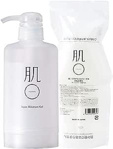 【Renewal】肌まる アクアモイスチャーゲル420g専用ポンプセット (NET420g)