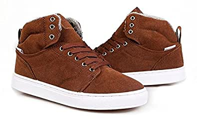 ブーツ メンズ  全6色選び スエードブーツ ふわふわ 暖かい定番冬靴 2141 23 イエロー