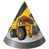 建設ゾーンCone Hats ( 8 ct )