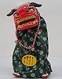 踊る獅子舞M P-1600-MR お正月飾り 日本のお土産品 グリーン