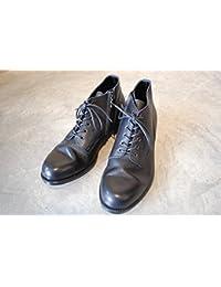 PADRONE(パドローネ) メンズ CHUKKA BOOTS with SIDE ZIP チャッカブーツ サイドジップ / BAGGIO バッジオ BLACK ブラック PU7358-1205-13D