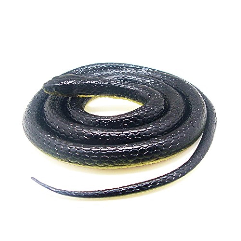 [ジェネリック]Generic Realistic Rubber Scary Gag Gift Black Mamba Snake Toy 52 Inch Long LYSB01DG4W71G-TOYS [並行輸入品]