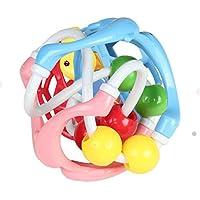 Yiping 子供用 知育玩具 カラフル 幼児 ドルフィン ラトル アプリース おもちゃ 歯固め バイト リング 握りボール リング 知的開発 ギフト