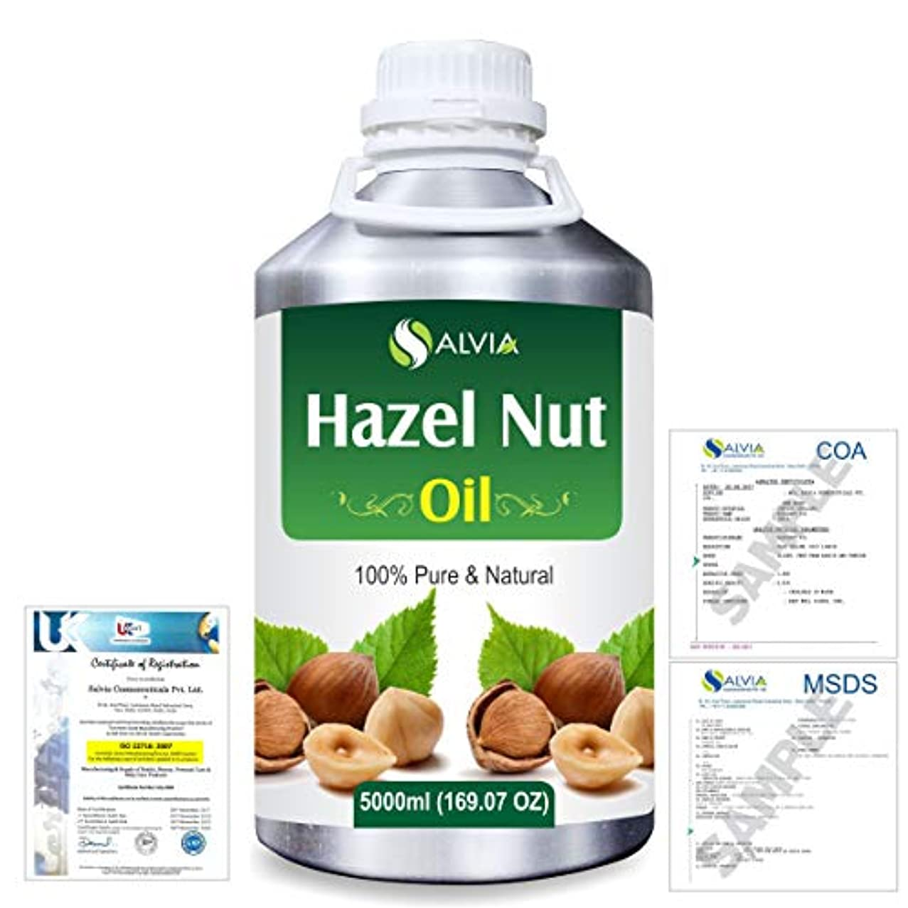 Hazel Nut (Corylus avellana) 100% Natural Pure Essential Oil 5000ml/169fl.oz.