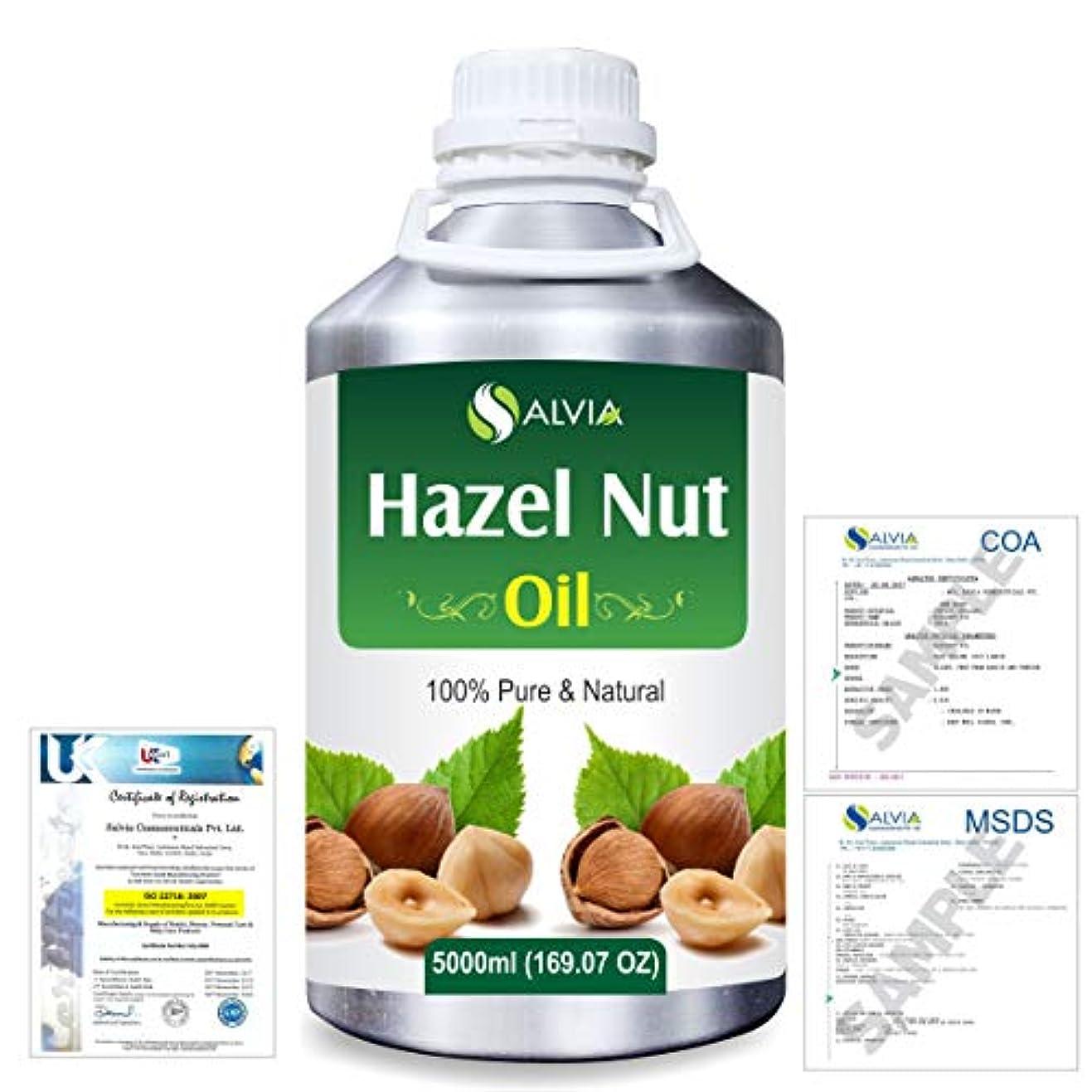 亜熱帯中止します連邦Hazel Nut (Corylus avellana) 100% Natural Pure Essential Oil 5000ml/169fl.oz.