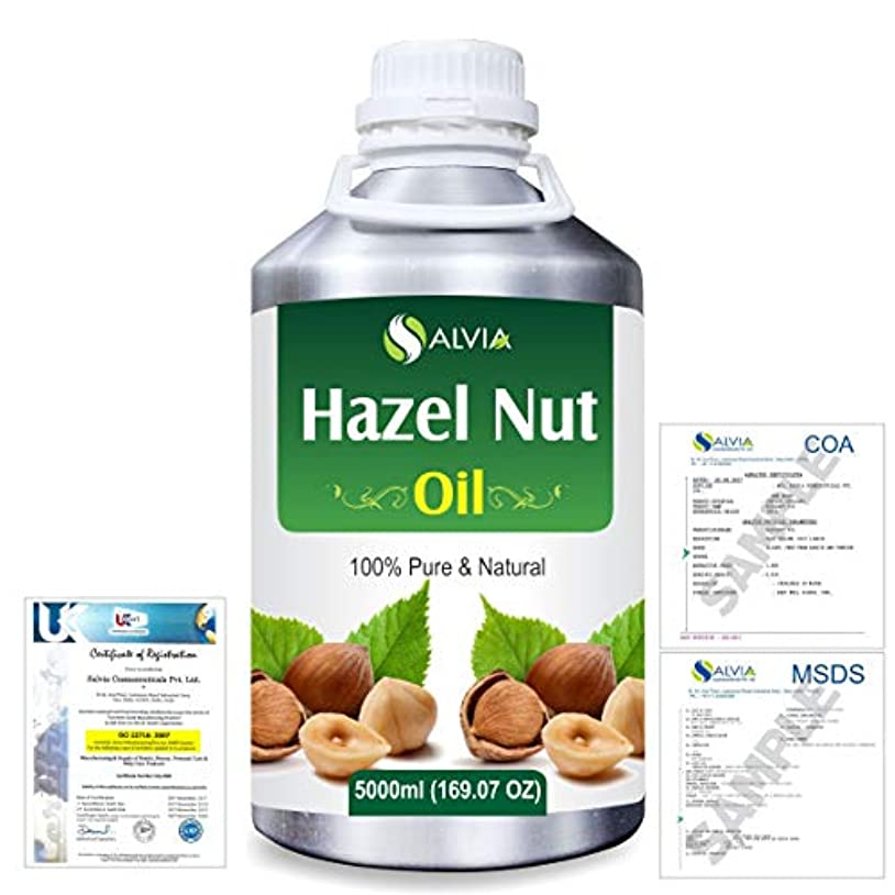落胆する誘惑収入Hazel Nut (Corylus avellana) 100% Natural Pure Essential Oil 5000ml/169fl.oz.
