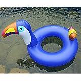 浮き輪 うき具 大人用 子供用 フロート 人気 かわいい 家族 海 プール ビーチグッズ 遊具 空気入れ1個 キツツキ