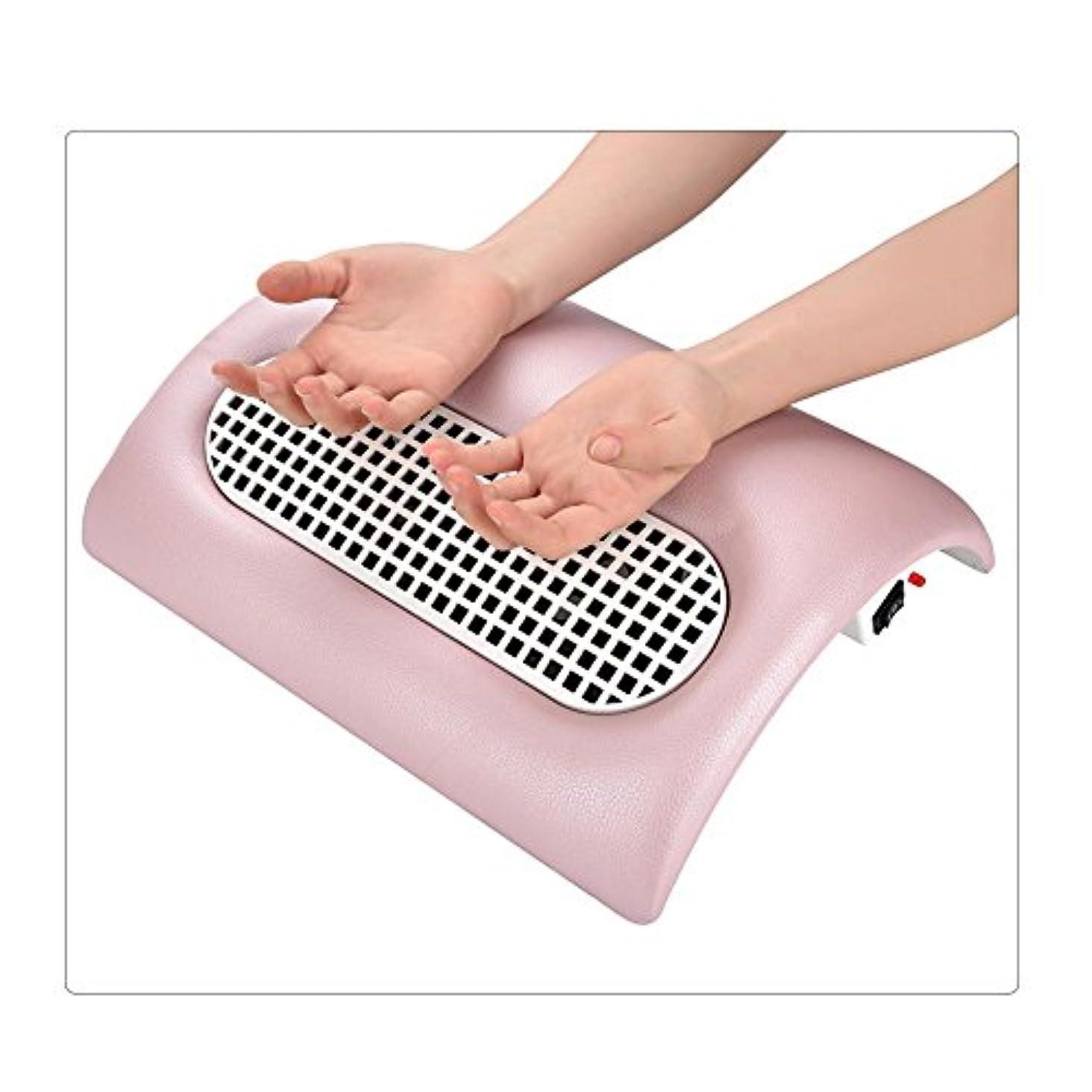 ページバリケードインフルエンザネイル(釘)集塵機 ネイルダスト 集塵機  ダストクリーナー  ジェルネイル ネイル機器 (ピンク)