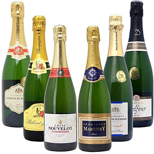 高コスパ・高品質シャンパン6本セット((W0CN05SE))...