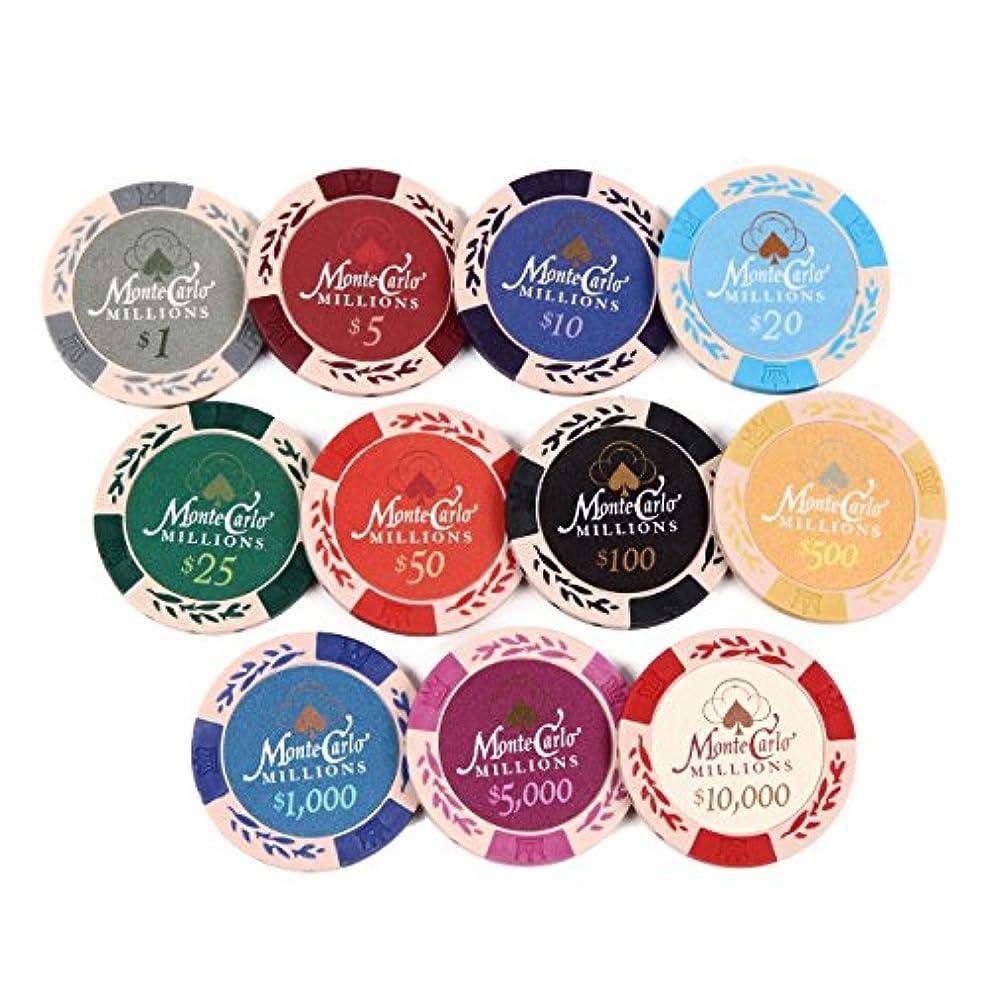 保険エイズ交流するEco Ride World ポーカー カジノ チップマーカー 11枚 セット SO_269