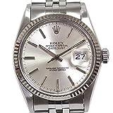 [ロレックス]ROLEX メンズ腕時計 デイトジャスト 16014 85番台(1984年製)アンティーク OH済 シルバー文字盤【中古】