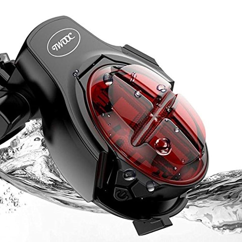 ジョイントオリエンタル後継自転車のテールライトマウンテンバイクブレーキライト防水USB充電式クリップインジケータ角度調整 MTB