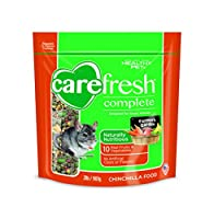 CareFresh Complete Diet Menu Healthy Pet Chinchilla Food Natural Ingredient 2lbs