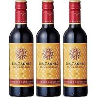 [3本セット] レ・タンヌ オクシタン カベルネ・ソーヴィニヨン ハーフ(Les Tannes en Occitanie Cabernet Sauvignon) ドメーヌ・ポール・マス 赤ワイン フランス 375ml×3本