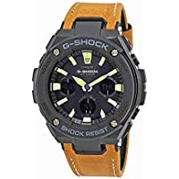 Casio G-Shock G-Steel Analogue/Digital Black/Yellow Solar Mens Watch GSTS120L-1B GST-S120L-1BDR