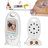 ベビーモニター ベビーカメラ iEleacc 無線 遠隔監視カメラ 双方向音声 ワイヤレス コンパクト 防災 防犯り ボイスセンサー搭載 介護 赤ちゃん 出産祝い 見守りカメラ