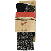 (レッドウィング) RED WING 97177 Deep Toe Capped Toe Wool Boots Socks 靴下 Black ブラック