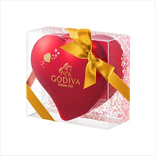 ゴディバ (GODIVA) ラッピングチョコレート ミニハート缶 (5粒入)