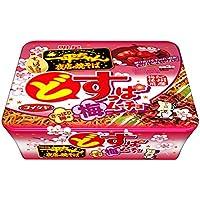 明星 一平ちゃん 夜店の焼そば どすっぱムーチョさっぱり梅味 115g×12個入り (1ケース)