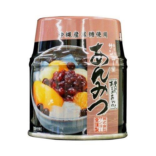 サンヨー あんみつ 黒みつ(255g) フード 缶詰・瓶詰 フルーツ缶詰・瓶詰 k1-4901605...