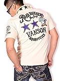 (バンソン) VANSON ルーニー・テューンズ ロードランナー 半袖ポロシャツ LTV-604 ナチュラル L